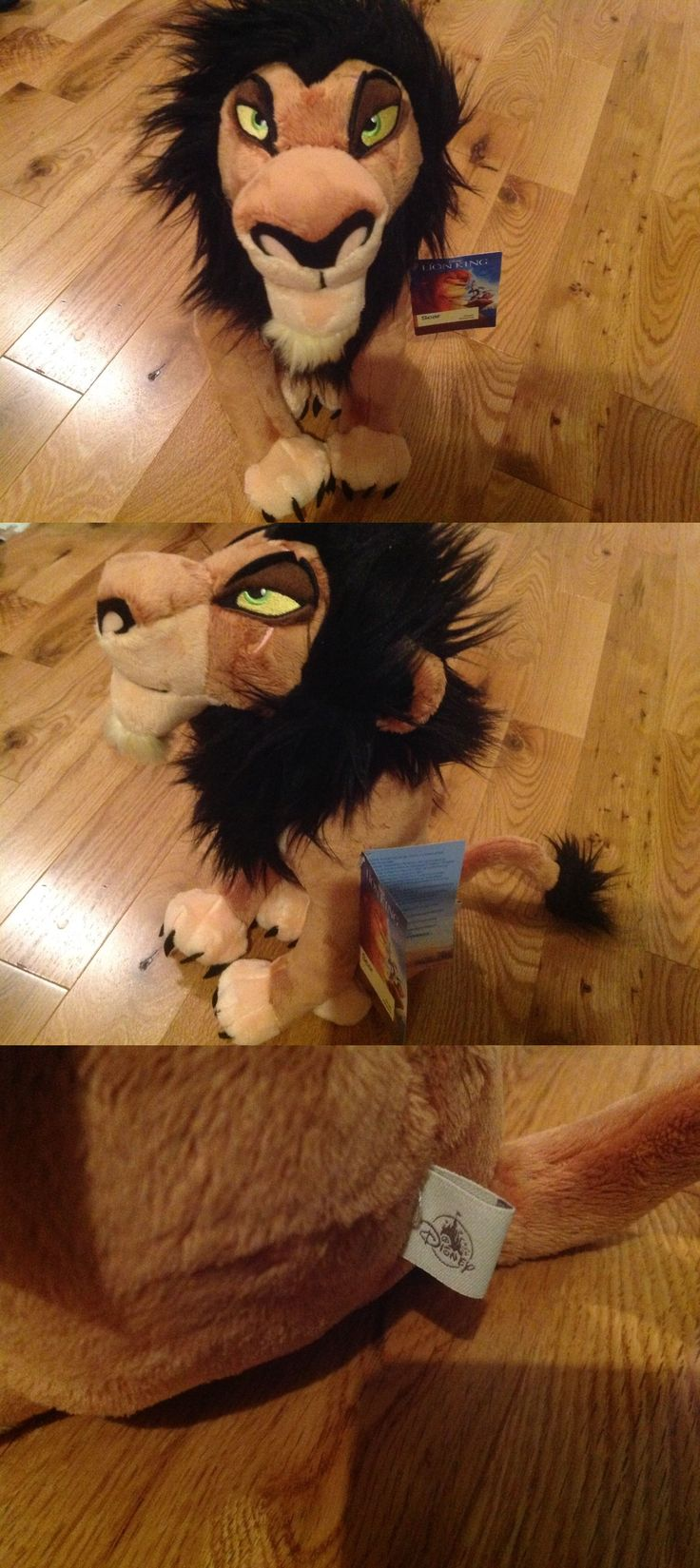 Lion King 44037: Scar Plush Toy From The Lion King From The Disney Store! Rare 18 -> BUY IT NOW ONLY: $58.88 on eBay!