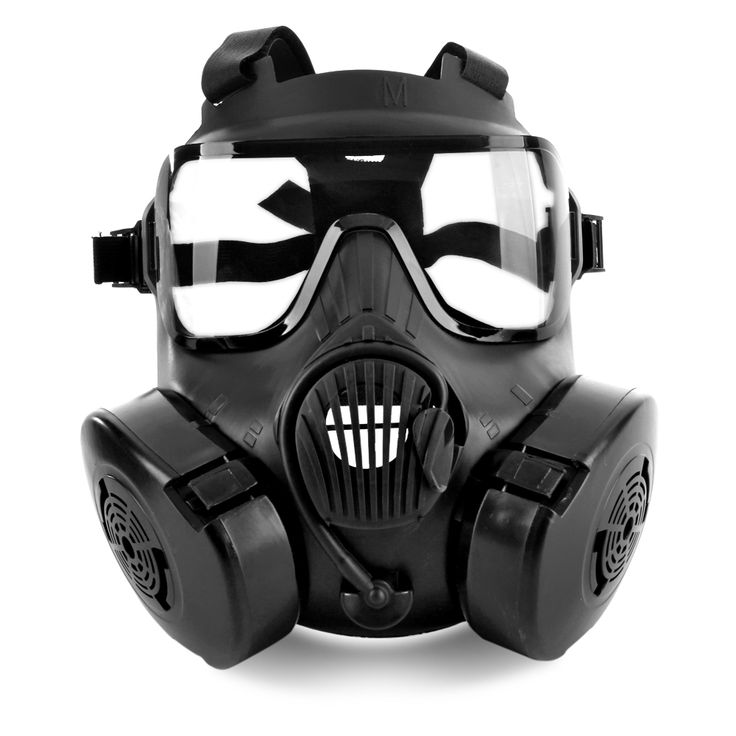 Paintball Tactical Airsoft Game Face Protection Safety Mask Guard M50 Gas Mask