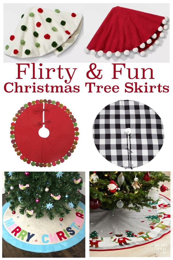 What Is Your Favorite Christmas Tree Skirt Or Collar Christmas