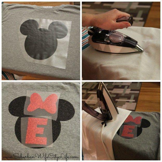 Disney Shirts iron on