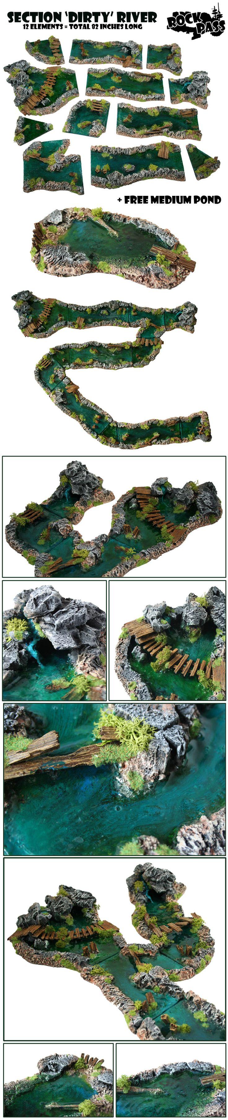 river modular terrain