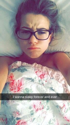 I wanna sleep forever and ever