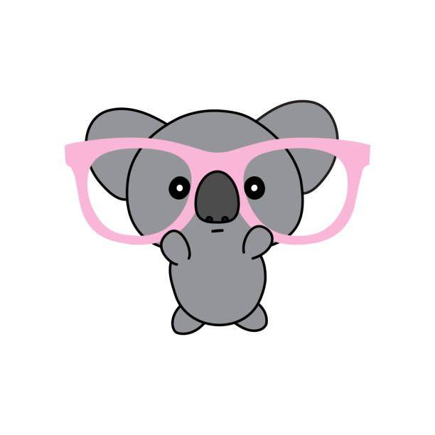 Tiernos Dibujos De Koalas Kawaii Para Colorear