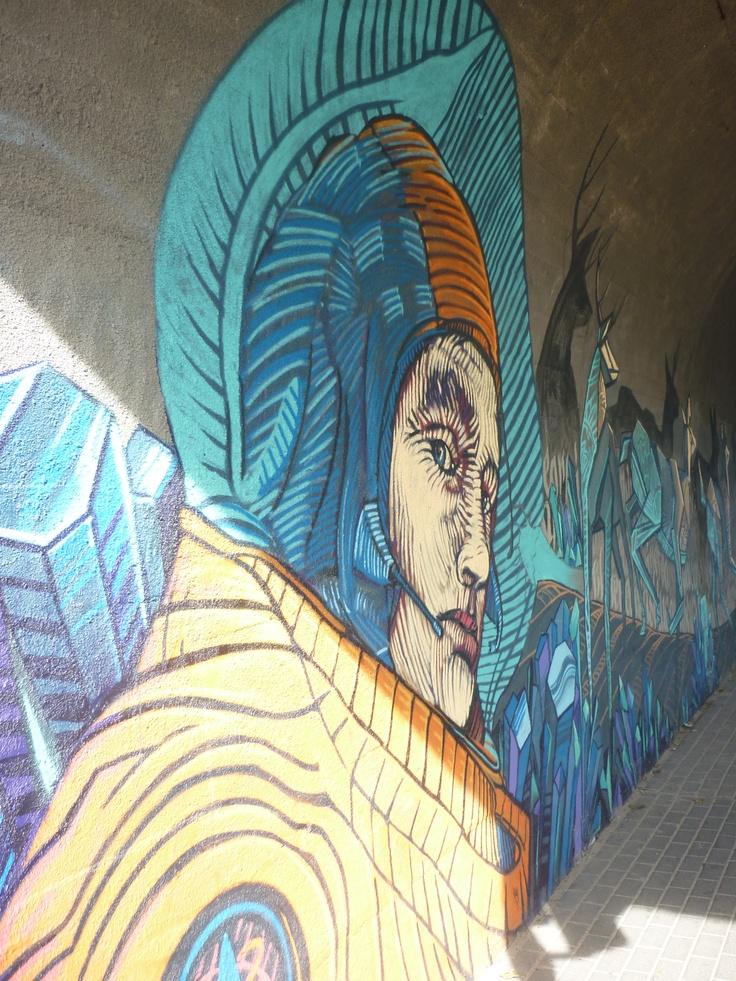 Gdyński street art.