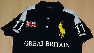 "MEN'S **AUTHENTIC** RALPH LAUREN TEAM GB POLO SHIRT - SIZE S SMALL 38"" chest"