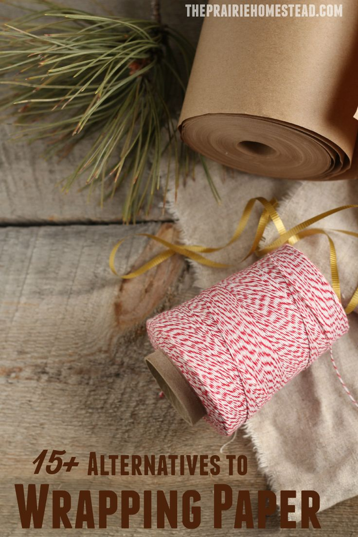 15+ creative wrapping paper alternatives that are clever, cheap, and repurposed!