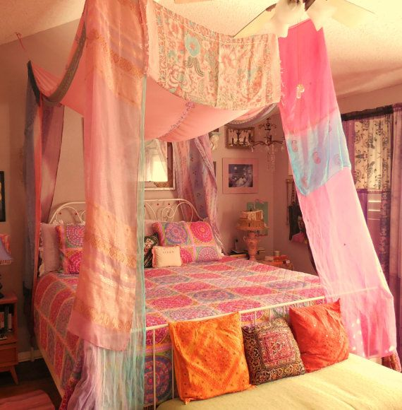 Hey, I found this really awesome Etsy listing at https://www.etsy.com/listing/176480438/bohemian-gypsy-bed-canopy