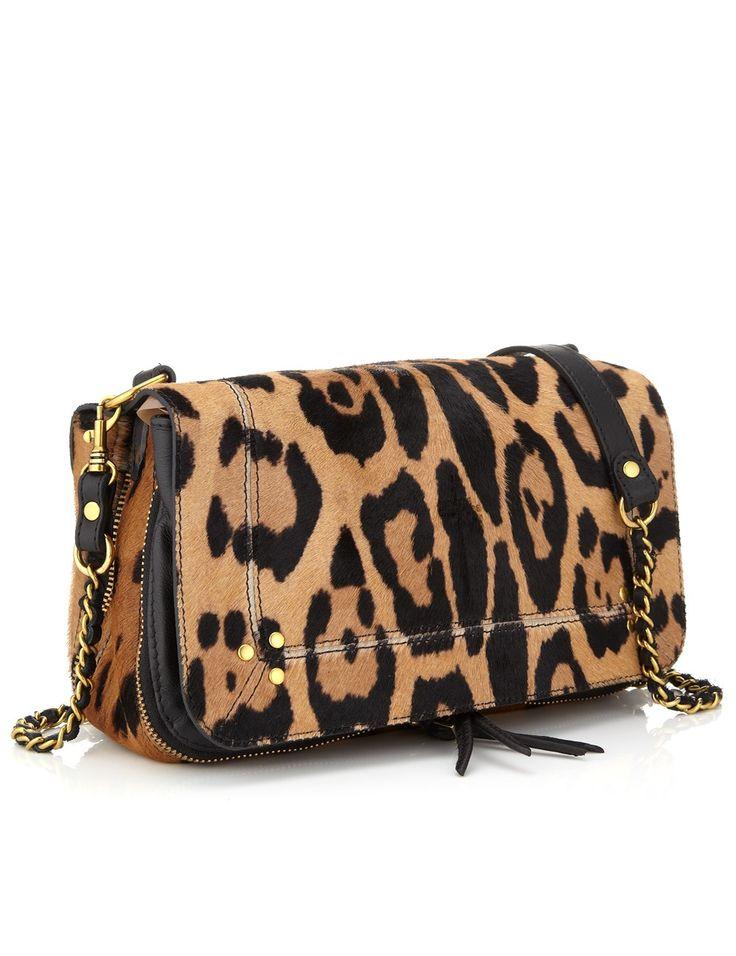 Leopard Calfskin Bobi Bag | Jerome Dreyfuss | Avenue32
