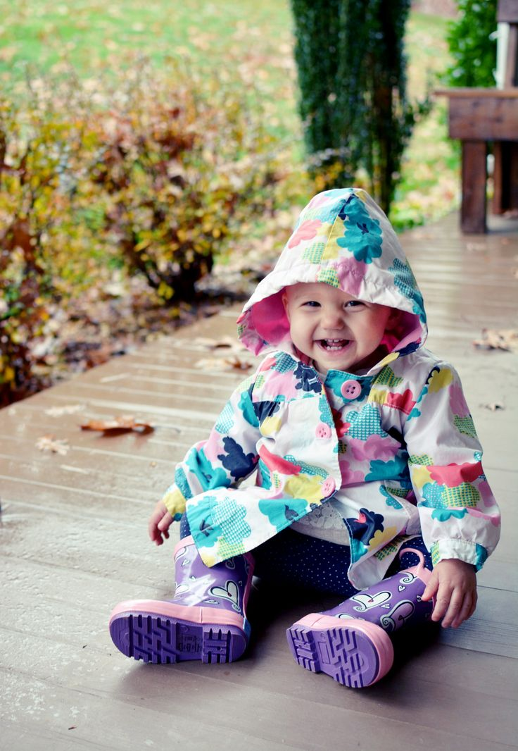 Our Happy Hearts kids rain boots are sure to brighten your day!