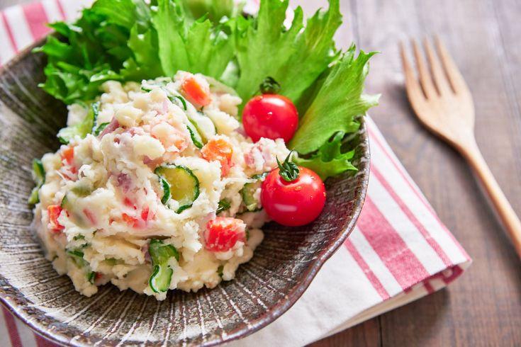 Best Japanese Potato Salad Recipe (ポテトサラダ) - Delicious Techniques