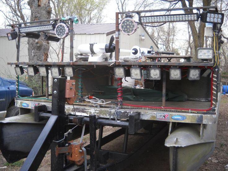 bowfishing pontoon | Bowfishing plans | Pinterest | Bowfishing