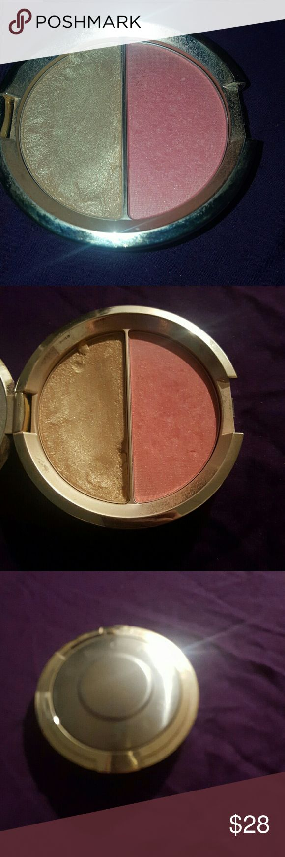 Becca shimmering skin perfector champagne split Champagne pop highlight prosecco blush Used as shown still a lot left no box limited edition sold out no holds no trades reasonable offers welcome BECCA Makeup Blush