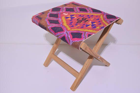 southwestern home decor stool hippie decor accessories ottoman eclectic garden decor chair design interior footstool victorian furniture N53