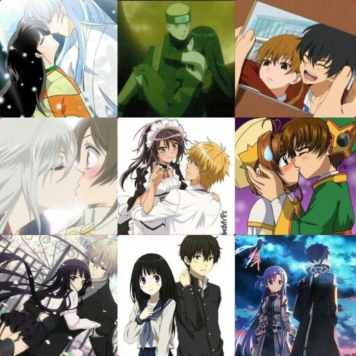 best romantic couple my top 9 romantic anime couple animes inuyasha naruto the 4594