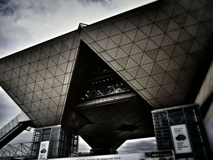 Inversed Pyramid - Tokyo Big Sight by Masahiro Hasegawa on 500px