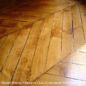 french oak chevron pattern