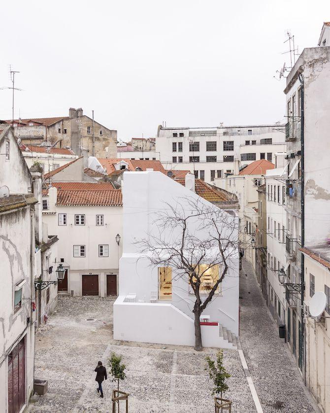 José Adrião Arquitectos: Casa da Severa - Thisispaper Magazine