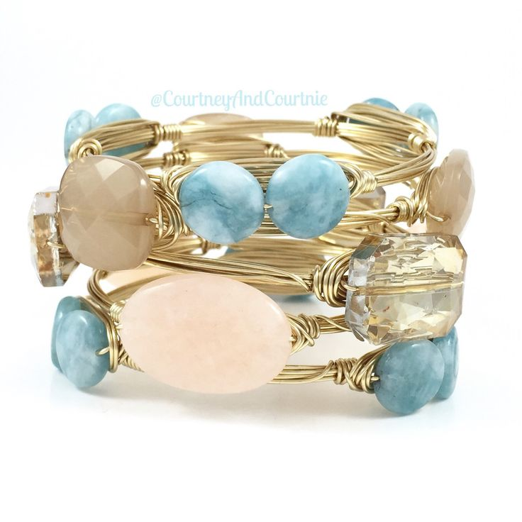 The 25+ best Wire wrapped bangles ideas on Pinterest | DIY ...