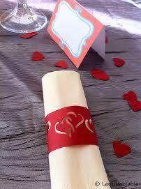 rond serviette mariage diy