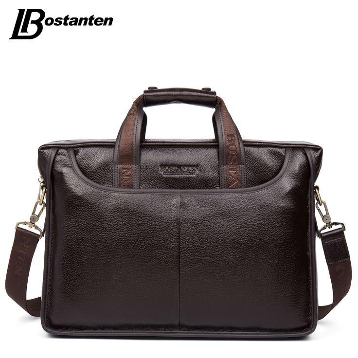 Bostanten 2016 Nieuwe Mode Lederen Mannen Tas Beroemde Merk Schoudertas Messenger Bags Causale Handtas Laptop Aktetas Mannelijke
