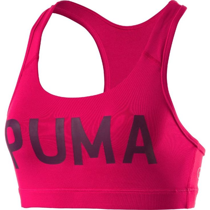 Puma Women's Kylie Jenner Powershape Forever Logo Sports Bra, Size: Medium, Love Potion