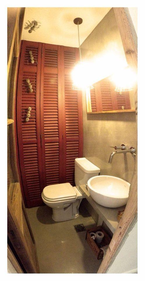 Toilette Microcemento