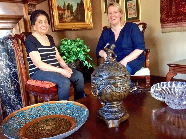 Noorbanu sits down in an interview with journalist Julie Van Rosendaal