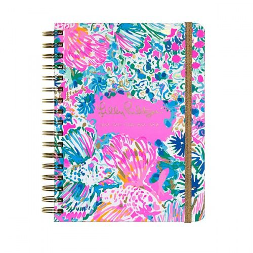 2017-2018 Lilly Pulitzer Large Agenda Gypsea