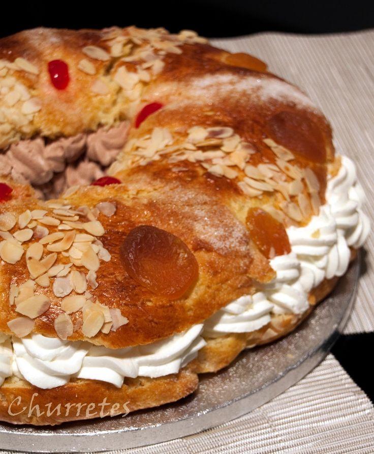 Nada que ver con los roscones comprados . . . dónde va a parar ? ? ? La receta es de Javi Recetas , podéis pinchar en el nombre para ...