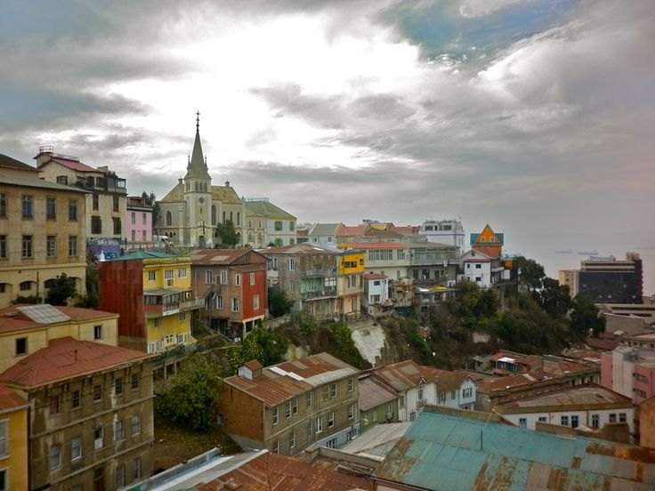 Valparaiso, Chile. Some day I'm going to live here for a couple years for school...