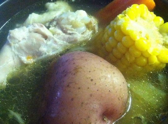 How to Make Caldo De Pollo (Mexican Style Chicken Soup)