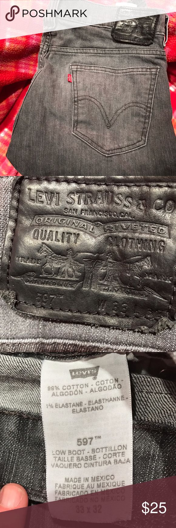 Brand new men's Levi jeans My husband bought these and their a Little too tight. Worn once ! Levi's Jeans Straight Leg