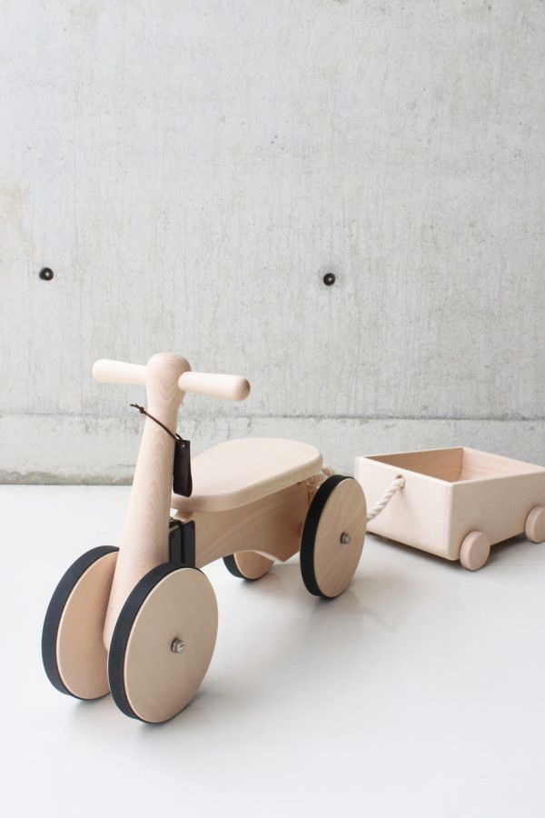 Wooden trike & trolley