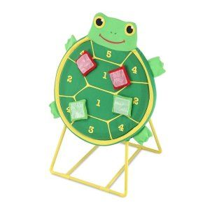 Melissa & Doug Sunny Patch Tootle Turtle Target Game This game is great for eye and hand coordination, number recognition and counting.  http://bit.ly/1v0Lh4Z