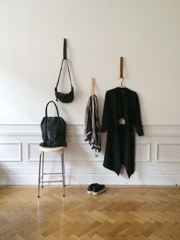 Hallway/Reading   Mathilda Clahr   Strap Hangers
