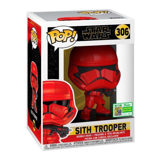 Starwars The Rise Of Skywalker Funko Pop Sith Trooper Sdcc19 Exclusive Funko Pop Star Wars Star Wars Sith Funko Pop