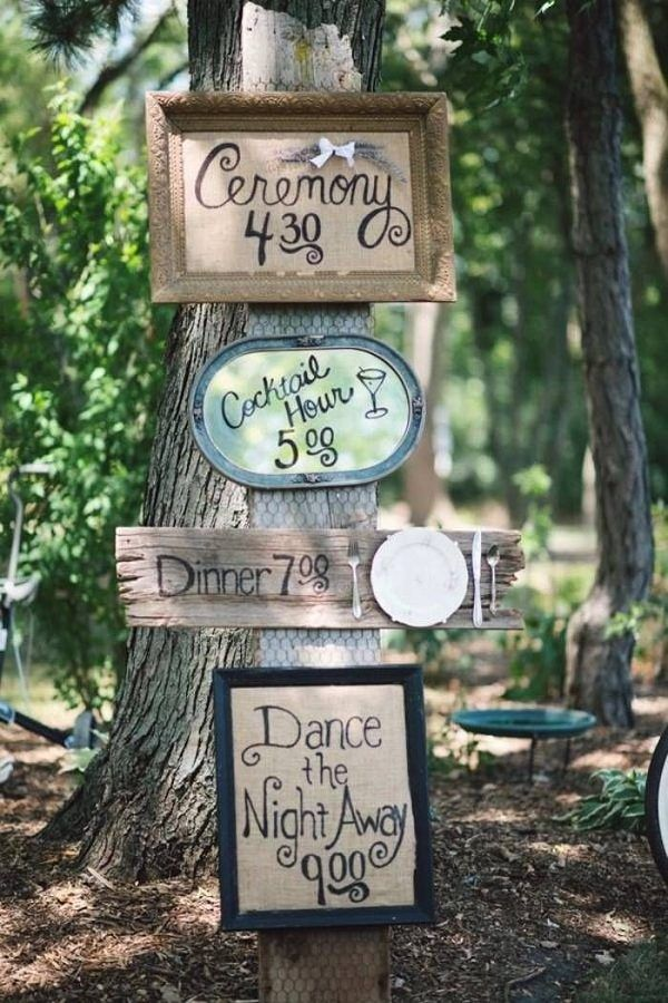 Rustic Wedding Reception Wedding Sign / http://www.deerpearlflowers.com/rustic-wedding-details-ideas-you-will-love/2/