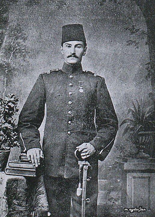 (Osmanlı Süveyş Kanalı Harbi Şehidi Mülazım-ı Evvel Maraşlı Mehmet Emin Efendi)