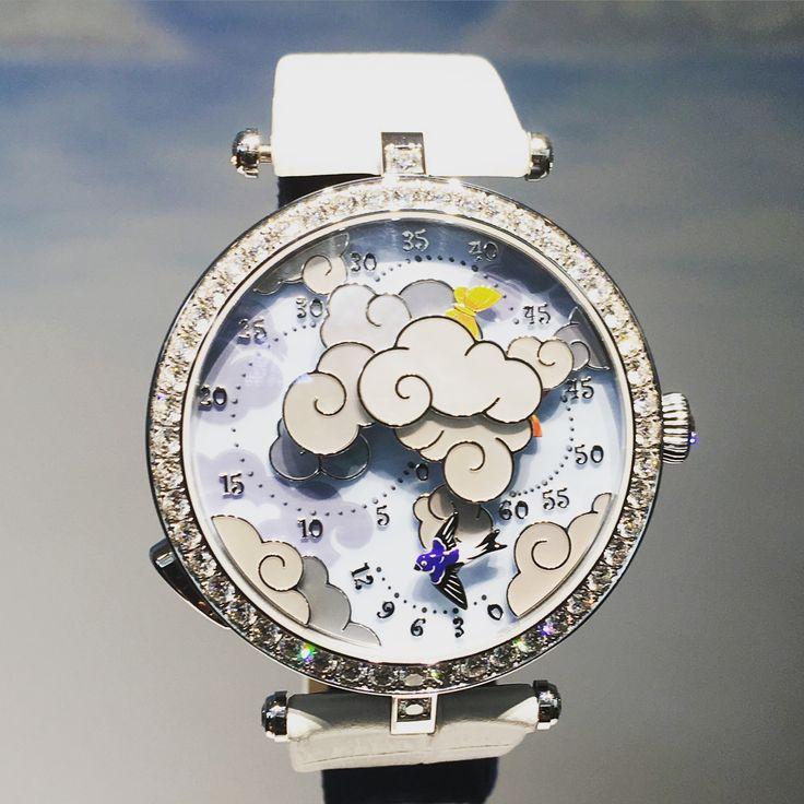 ヴァンクリーフ & アーペルの夢見心地な時計の世界にようこそ。-@BAILA
