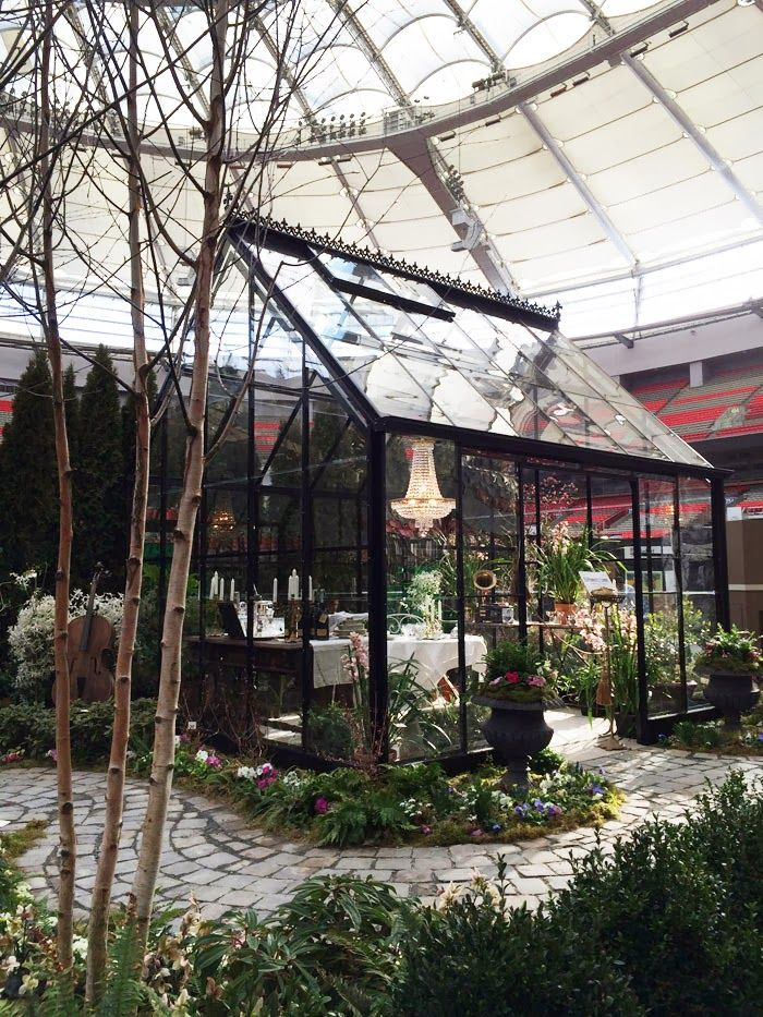 I would love to have this greenhouse in my backyard. | BC Home + Garden Show