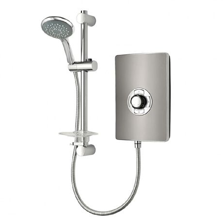 Triton - Aspirante 9.5kw Electric Shower - Gun Metal - ASP09GUNMTL