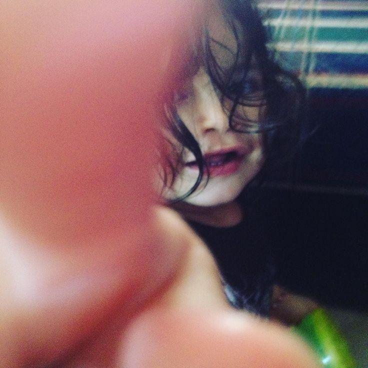 Mamá no quiero fotos! Lol  #luna #connyluna #amosermama #enespañol #pose #mamalatina #miamor #latinosenusa #mamablogger #casiesmicumpleaños #deditos #fe