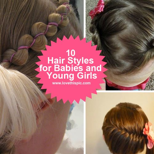Hairstyles For Babies adorable toddler hairstyles 10 Hair Styles For Babies And Young Girls