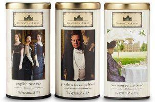 Republic of Tea scented tea trio, Downton Abbey
