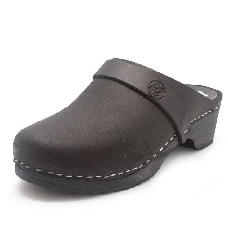 Zapatos negros Berlin-clogs para hombre kVNOt3