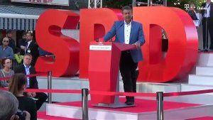 Außenminister Sigmar Gabriel glaubt offenbar nicht mehr daran, dass die SPD bei der Bundestagswahl stärkste Partei werden kann. (Screenshot: Reuters)