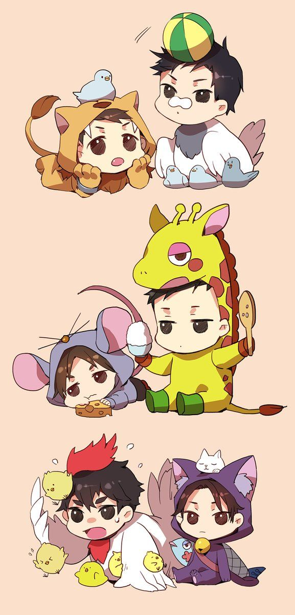 🍁Kaminaga the Lion, Tazaki the Pigeon, Hatano the Mouse, Odigiri the Giraffe, Sakuma the Chicken, Miyoshi the Cat | Joker Game (ジョーカーゲーム)