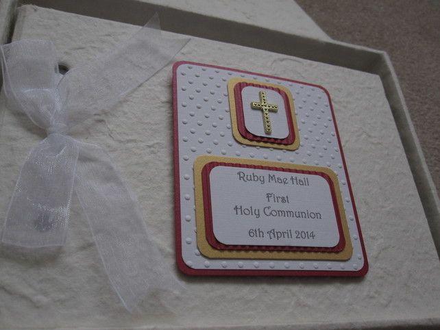 Handmade First Holy Communion Guest Album £17.99