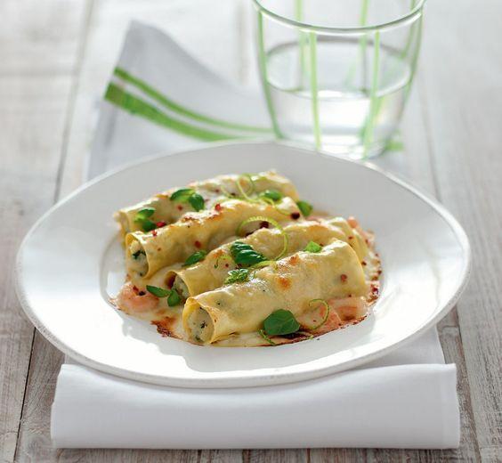 Facili, gustosi e veloci da preparare, questi cannelloni ripieni sono un primo piatto di pesce dal risultato squisito e garantito. Scopri la ricetta!