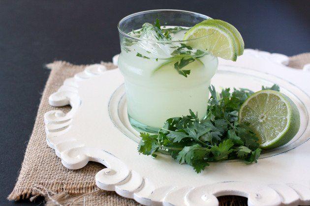 Cilantro Vodka Limeade